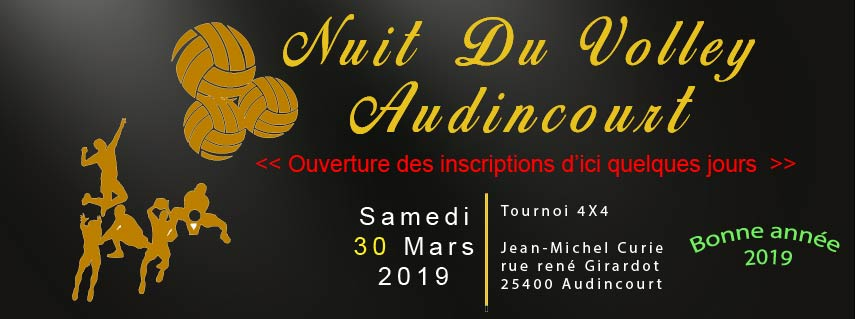 Nuit du volley 2019